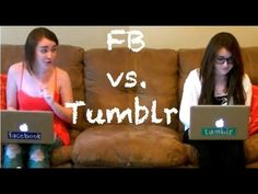 ▶ Facebook Girls Vs. Tumblr Girls - YouTube
