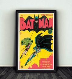 11 x 17 Batman #1 Comic Book Cover Poster Print