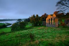 Another awesome shot of Inch Abbey, one of the many Northern Ireland film locations for GoT.