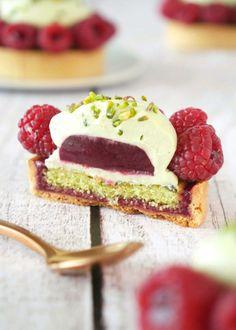 Vegan Dessert Recipes, Tart Recipes, Fruit Recipes, Sweet Recipes, Fancy Desserts, Mini Cheesecakes, French Pastries, Sweet Treats, Food