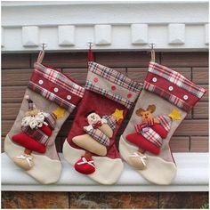 45 cm 3D Bolsa de Regalo para Niñas Cama Gota Adornos ALCES de Navidad Artículos de la Media en de en AliExpress.com | Alibaba Group