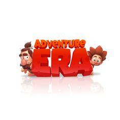 Adventure Era on Behance Dmitrii dmn Nechitailo Game Character, Character Design, Fantasy Logo, Resort Logo, Game Logo Design, Game Props, Creative Brochure, Cute Games, Branding