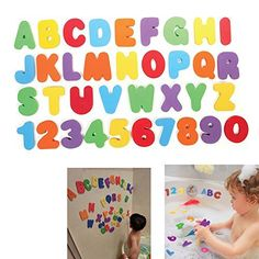 Product review for 36 pcs Letters and Numbers Bath Toys, OMGOD Non Toxic Foam Educational Toy, Organizer educating child in fun baby's brain and innovative Toddler Gift Bath Toy in Your Holiday List -  Reviews of 36 pcs Letters and Numbers Bath Toys, OMGOD Non Toxic Foam Educational Toy, Organizer educating child in fun baby's brain and innovative Toddler Gift Bath Toy in Your Holiday List. Buy 36 pcs Letters and Numbers Bath Toys, OMGOD Non Toxic Foam Educational Toy,