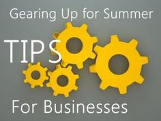 Here are a few ways that you can make use of your extra time this summer, while enjoying the benefits that come along with improving your business for the busier times ahead! Business #tips
