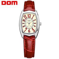 DOM luxury brand waterproof style watch quartz leather women reloj de las mujeres watches women