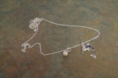 Jumping Dolphin necklace