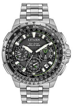 Citizen Eco-Drive Promaster Navihawk GPS CC9030-51E Satellite Wave GPS. Marshall Jewelry