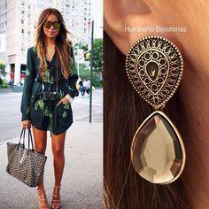 #earring #humbertobijouterias #streetstyle