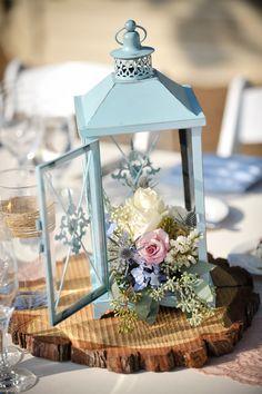 Wedding lanterns - wedding lighting - wedding table ideas {Courtesy of Nicole George Events}