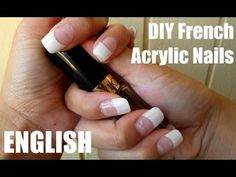 DIY French Acrylic Nails (ENG)