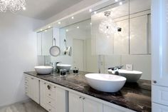Plan vasque marbre sur mesure tanga brown by Capri