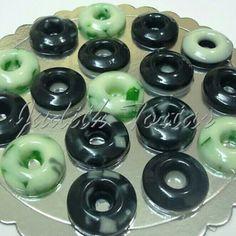 Mini gelatinas, divertidos diseños!!