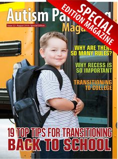 Features: +Why are There So Many Rules? +The Amazing Goal Folder +Why School Recess is Important for Autistic Children +19 Tips for Easing the Transition to a New School Year +The College Admissions Interview and Students on the Autism Spectrum +Top 10 Areas of Support for Students with Aspergers and LD As They Transition to College