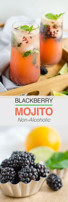 Non Alcoholic Blackberry Mojito - - Non Alcoholic Blackberry Mojito Non-Alcoholic Beverages This naturally sweetened, non alcoholic, low calorie refreshing blackberry mojito is perfect to enjoy summer Non Alcoholic Cocktails, Drinks Alcohol Recipes, Cocktail Recipes, Punch Recipes, Summer Drinks, Fun Drinks, Healthy Drinks, Low Calorie Drinks, Juice Drinks