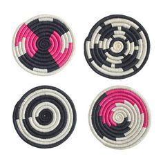 Indego Africa coasters