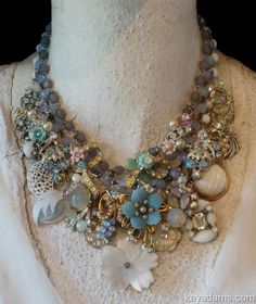 A beautiful necklace from old vintage jewelry. L3816 ~ purchase at anthillantiques.com
