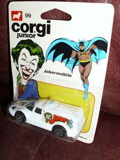Vintage Corgi Batman Joker Mobile 99 Super Friends JLA DC Comics RARE '76 | eBay
