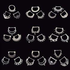 template_preview Septum Clicker, Septum Jewelry, Nose Hoop, Piercings, Ebay, Template, Ring, Tattoos, Piercing