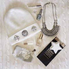 First snowfall favs { } Lush Cosmetics, Winter Essentials, Elizabeth And James, Opi, Urban Decay, Winter Wonderland, Urban Outfitters, Chloe, Monogram