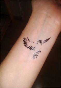 Wonderlijk Afbeeldingsresultaat voor vogel tattoos (met afbeeldingen HV-05