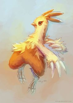 art-by-eldrige:  Happy Thanksgiving! Have two Combusken sketches.