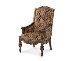 Leather/Fabric Armless Chaise (Opt 1)|Vizcaya®| Michael Amini Furniture Designs | amini.com