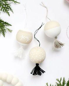 duurzame zelfgemaakte kerstdecoratie