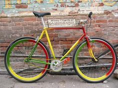 Old Rasta Bike