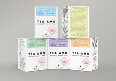 Tea Amo - Speciality Healing Teas - Graphis
