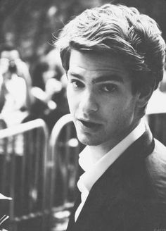 Andrew Garfield - Played in the latest The Amazing Spiderman and The Social Network> Soooo cutee this guy, loved him ever since I first saw him <3 <3 <3