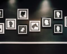 Wall Art Photo - Framed silhouettes