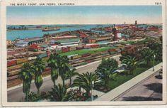 1930's San Pedro Postcard. Hagins collection.