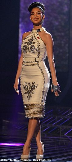 Dressed to impress: Nicole Scherzinger