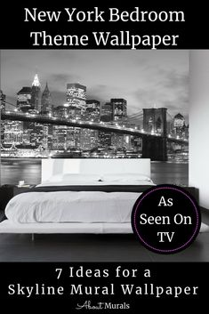 New York Bedroom Theme Wallpaper Full HD - Best of Wallpapers for Andriod and ios