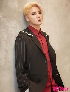 Junsu is a blond babe for '10+ Star' | allkpop.com