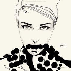 Manuel Rebollo. Illustration & Design: Pearls