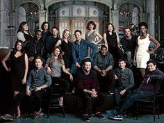 I love cast photos