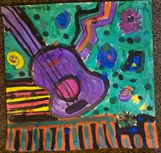ART+with+Mrs.+Smith:+Jazzy+Guitars+Grades+5/6