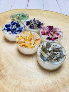 Crystal Tea Light Candles Custom Tea Lights with Crystals | Etsy
