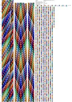 off loom beading techniques Crochet Bracelet Pattern, Crochet Beaded Bracelets, Beaded Necklace Patterns, Bead Crochet Patterns, Beaded Jewelry Designs, Bead Crochet Rope, Bead Loom Bracelets, Beaded Crafts, Jewelry Patterns