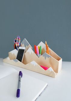 Desk Mesh Pen Pencil Holder Office Supplies Multifunctional Digital Led Pens Storage Packing Of Nominated Brand Desk Accessories & Organizer Pen Holders