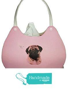 Mops auf Rosa - Handtaschenform - Kosmetikbox Handtasche von der KleineSterne https://www.amazon.de/dp/B06VXSBXF8/ref=hnd_sw_r_pi_dp_p9-4yb7FCFKGR #handmadeatamazon