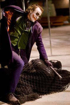 Heath Ledger The Dark Knight Joker Batman Arkham City, Joker Batman, Joker Y Harley Quinn, Joker Art, Batman Robin, Batman Comics, Batman Art, Gotham City, Joker Heath