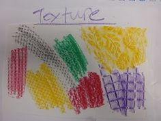 """Simple lessons on elements of art (texture, space, value...) """"Art is basic"""" blog."""