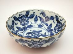 ♥ ~ ♥ Blue and White ♥ ~ ♥ ANTIQUE LATE 19thC JAPANESE MEIJI (1868-1912)