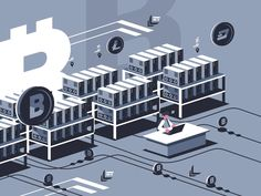 Farm for mining bitcoins. Vect - Crypto Currency - Ideas of Crypto Currency - Mining crypto currency. Farm for mining bitcoins. Bitcoin Mining Rigs, What Is Bitcoin Mining, Investing In Cryptocurrency, Money Machine, Crypto Mining, Does It Work, Crypto Currencies, Blockchain, Are You The One