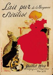 Steinlen - Lait Pur ~ Wall Poster - Vintage Cat Art Art Prints and Posters - Cats and Kittens Pictures Vintage French Posters, Art Vintage, French Vintage, Vintage Food, Dress Vintage, Vintage Prints, Retro Poster, Poster S, Print Poster