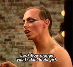 When Alyssa just casually pointed out that orange is not the new black.