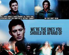 It's true. I was re-watching season 7 and the Leviathan were literally afraid of the Winchesters. It is like that whole speech about how the spider is more afraid of you than you are of it...kind of thing.