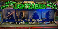 Disney World Souvenir: Build Your Own LightSaber at Once Upon a Child in Downtown Disney and Tatooine Traders in Hollywood Studios (gift shop in MK Tomorrowland) Disney World Souvenirs, Walt Disney Parks, Disney 2017, Downtown Disney, Disney Tips, Disney World Vacation, Disney Vacations, Family Vacations, Vacation Spots